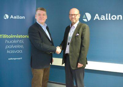 eControllers Oy liittyy osaksi Aallon Group Oyj:tä ja Aallon Group Oyj toteuttaa suunnatun osakeannin